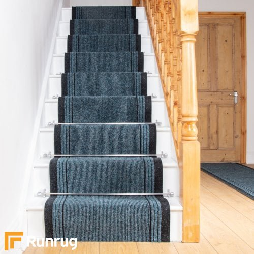 Inca Green Stair Runner