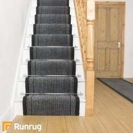 Inca Grey Stair Runner