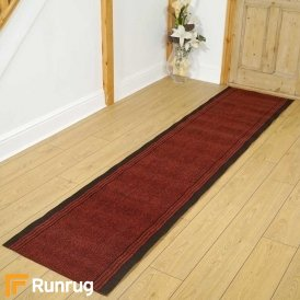 Inca Red Hall Runner