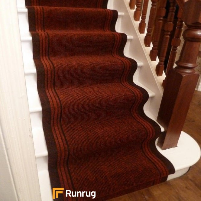 Inca Red Stair Runner