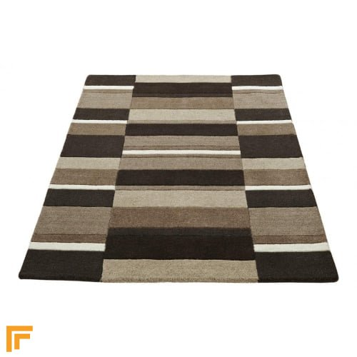 Jazz - Blocks Natural Rug