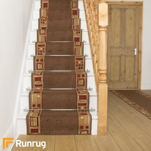 Jena Brown Stair Runner