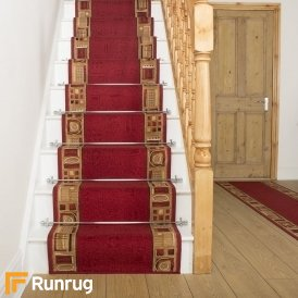 Jena Red Stair Runner