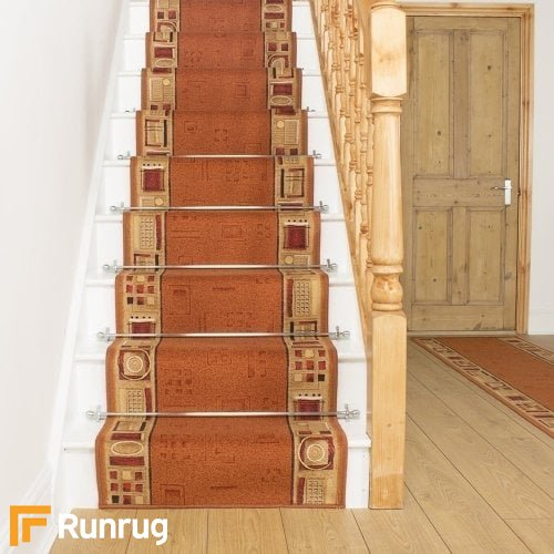 Jena Terracotta Stair Runner