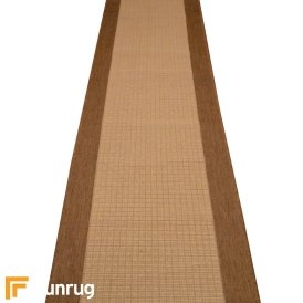 Jenga Beige Hall Runner