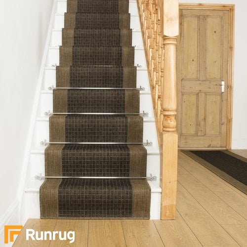 Jenga Brown Stair Runner