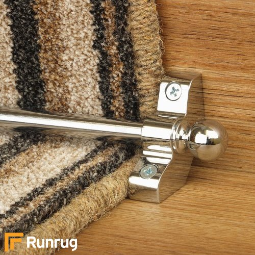 Jubilee Chrome Finish Stair Carpet Runner Rods