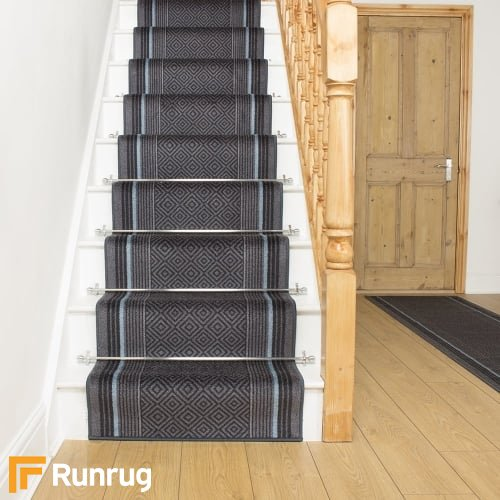 Jura Graphite Stair Runner