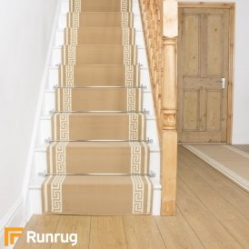 Key Beige Stair Runner