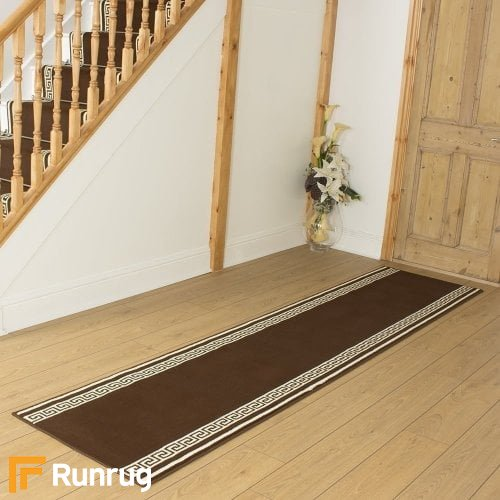 Key Brown Hall Runner
