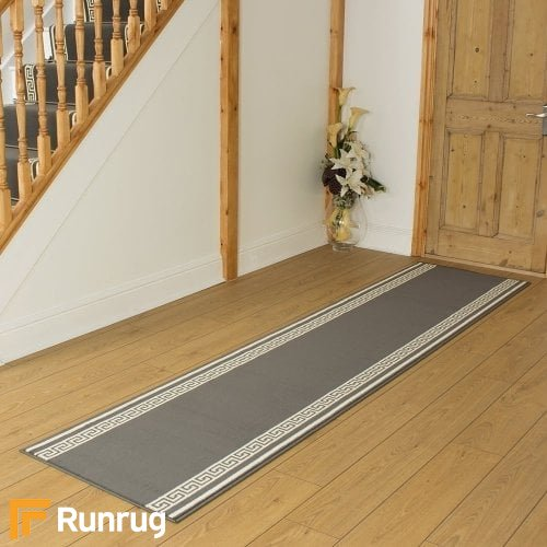 Key Grey Hall Runner