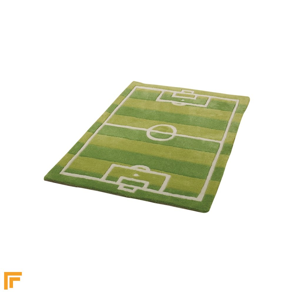 Green Children's Rug