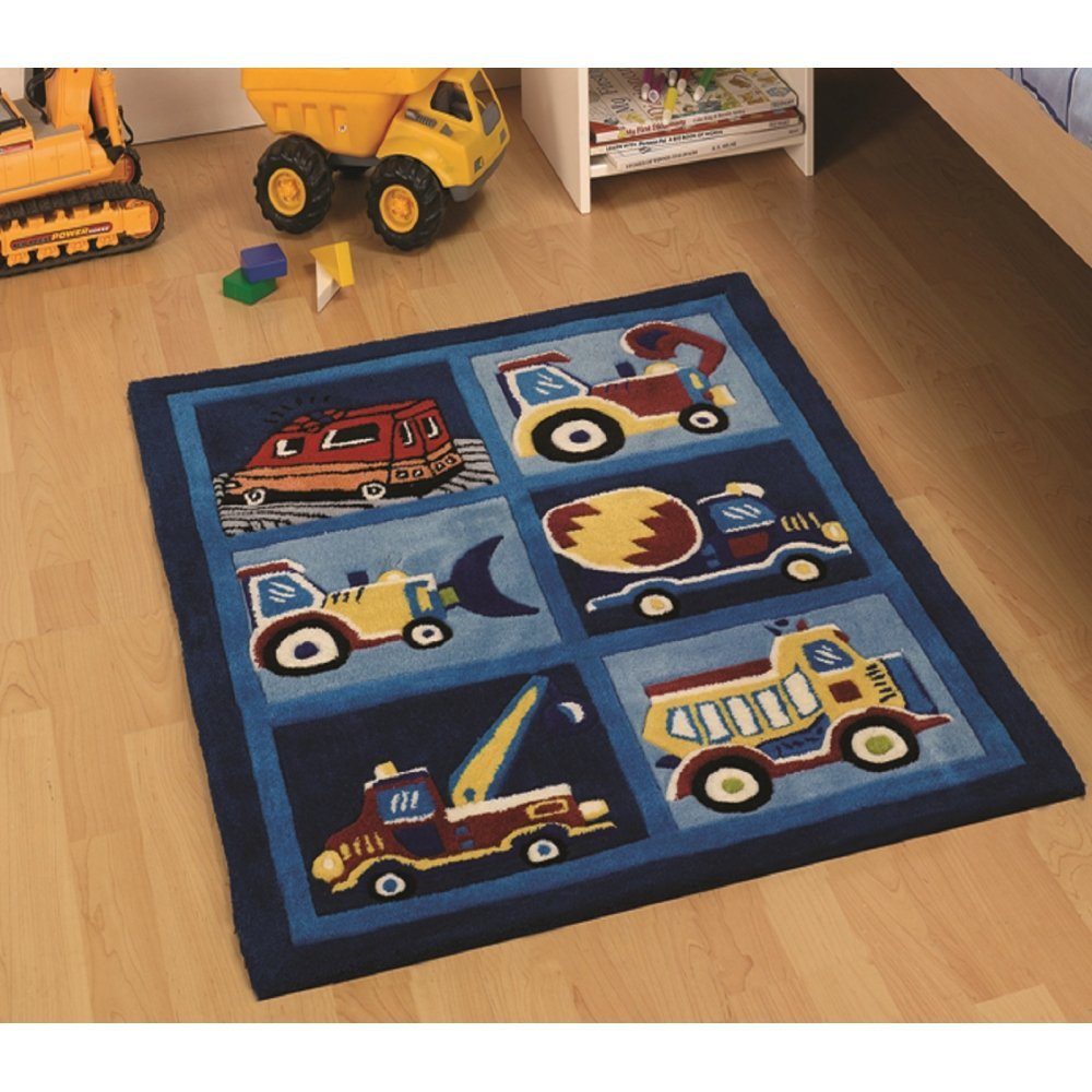 rugs children 39 s bedroom rugs kiddy play trucks boy rug