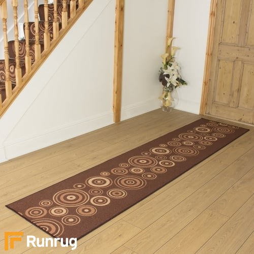 La Rambla Brown Hall Runner