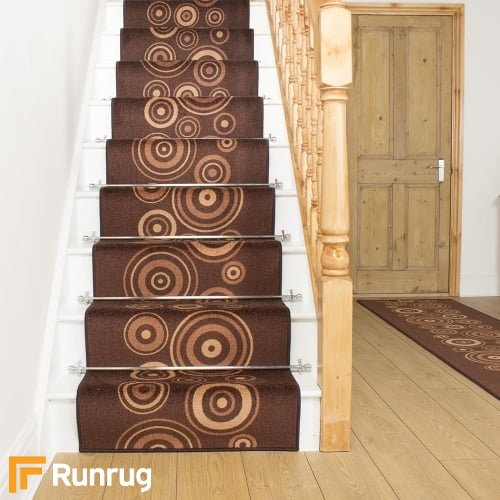 La Rambla Brown Stair Runner