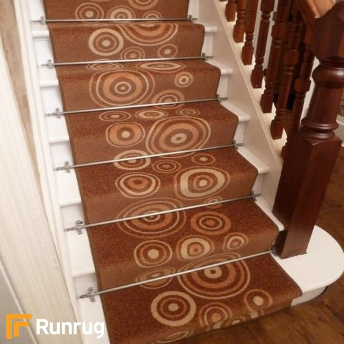 La Rambla Light Brown Stair Runner