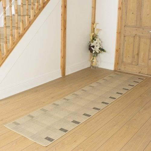 Ladder Beige Hall Runner