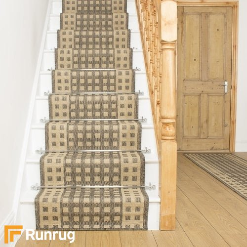 Lattice Tweed Stair Runner