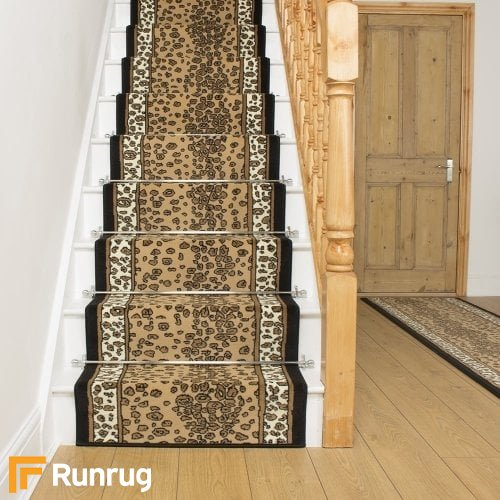 Leopard Full Print Stair Runner