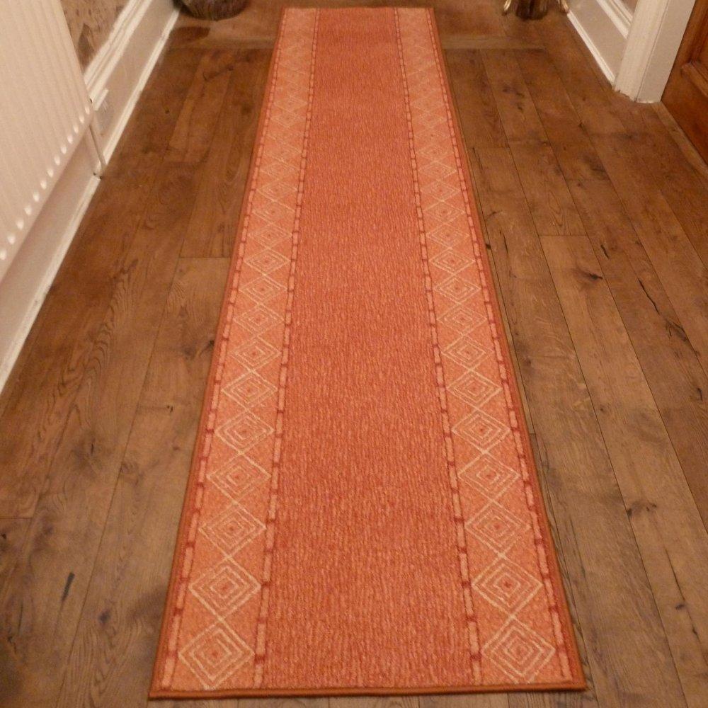 Terracotta Hall Runner Rug Mali Carpet Runners Uk