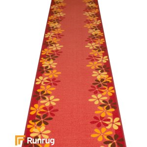 Margerite Red Hall Runner