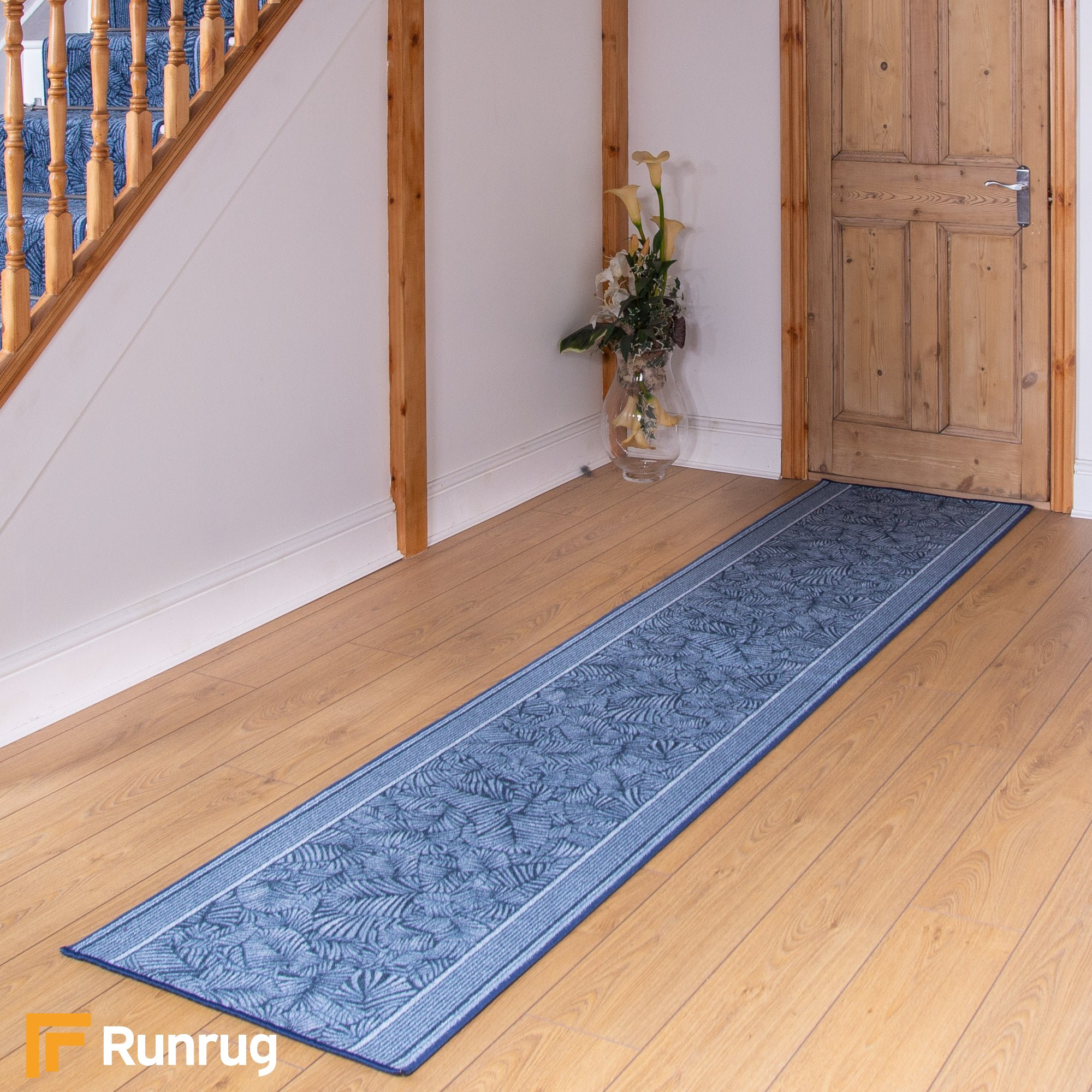 Maribo Blue Rug Runner