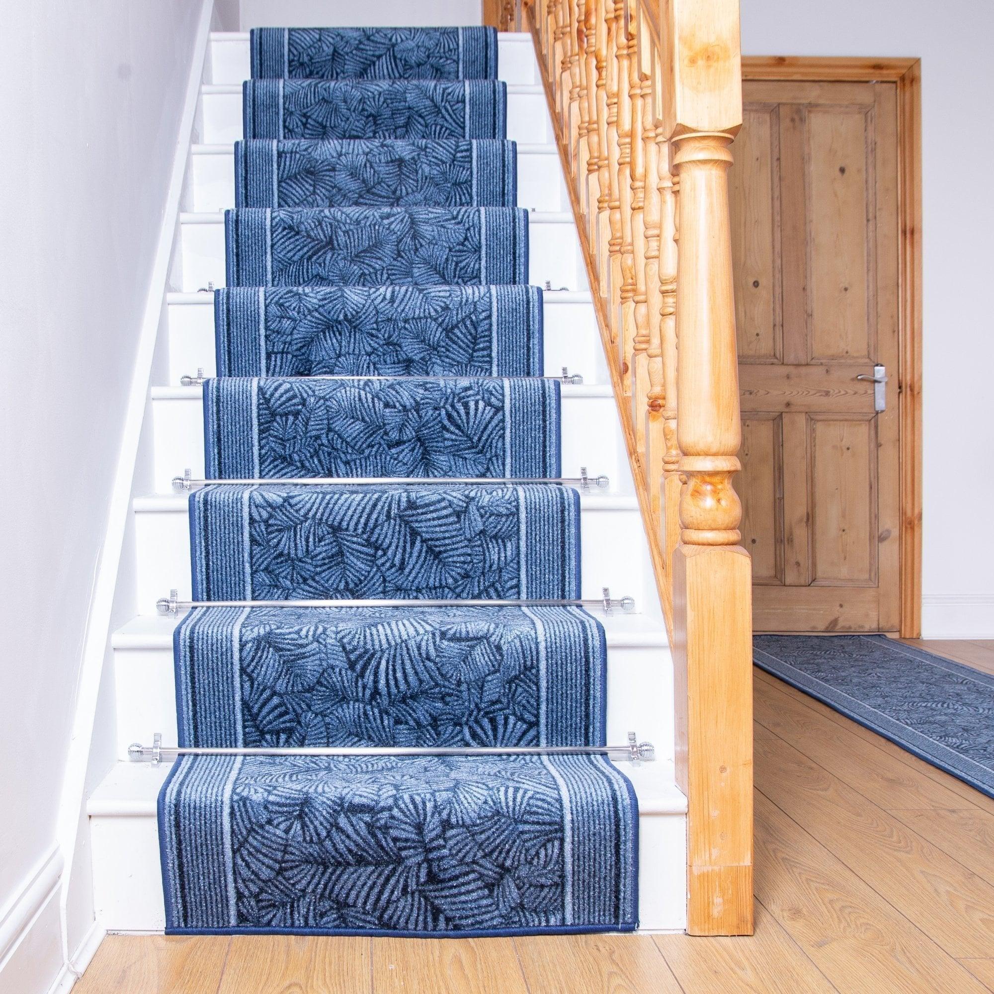 Maribo Blue Stair Runner