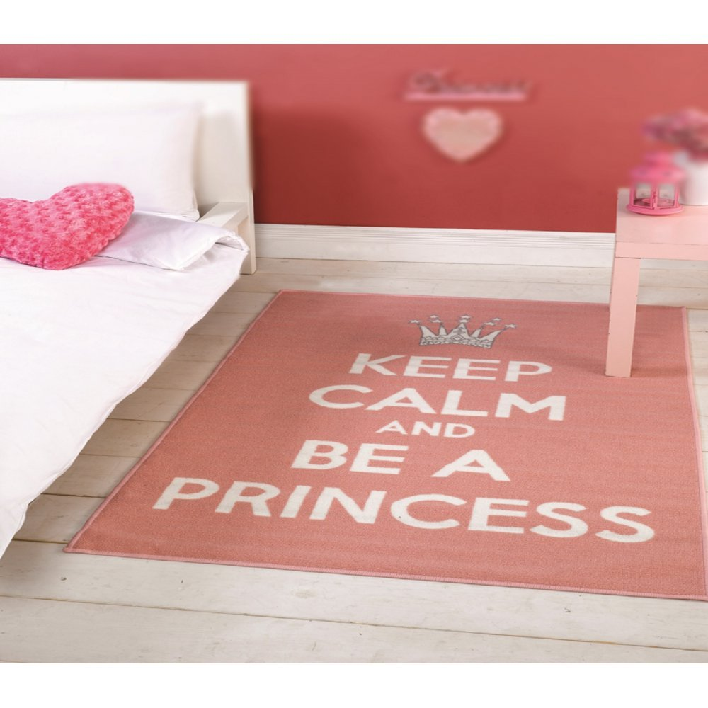 be a princess pink white children 39 s rug carpet runners uk