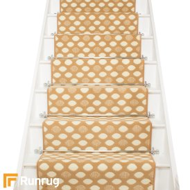 Matrix Beige Stair Runner