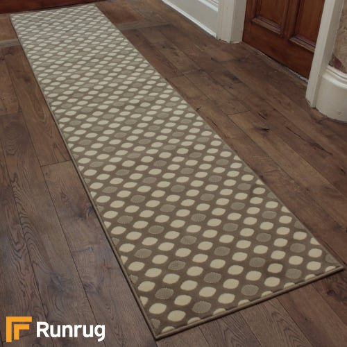 Matrix Light Brown Hall Runner