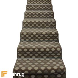 Matrix Light Brown Stair Runner