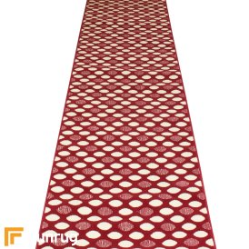 Matrix Red Hall Runner
