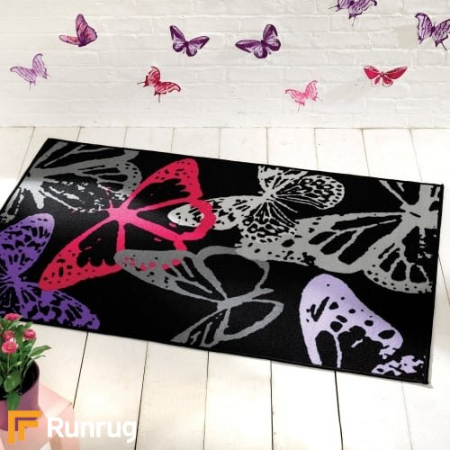 Matrix Themes - Butterflies Black/Multi