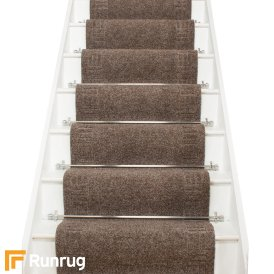 Mega Brown Stair Carpet Runner Stair Runner