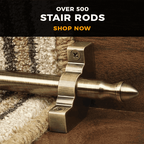 Over 500 Stair Rods