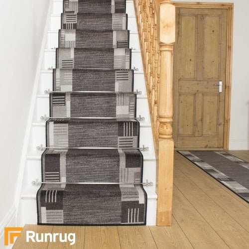 Montana Graphite Stair Runner