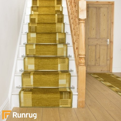 Montana Green Stair Runner