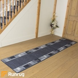 Montana Midnight Blue Hall Runner