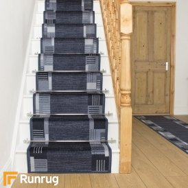 Montana Midnight Blue Stair Runner