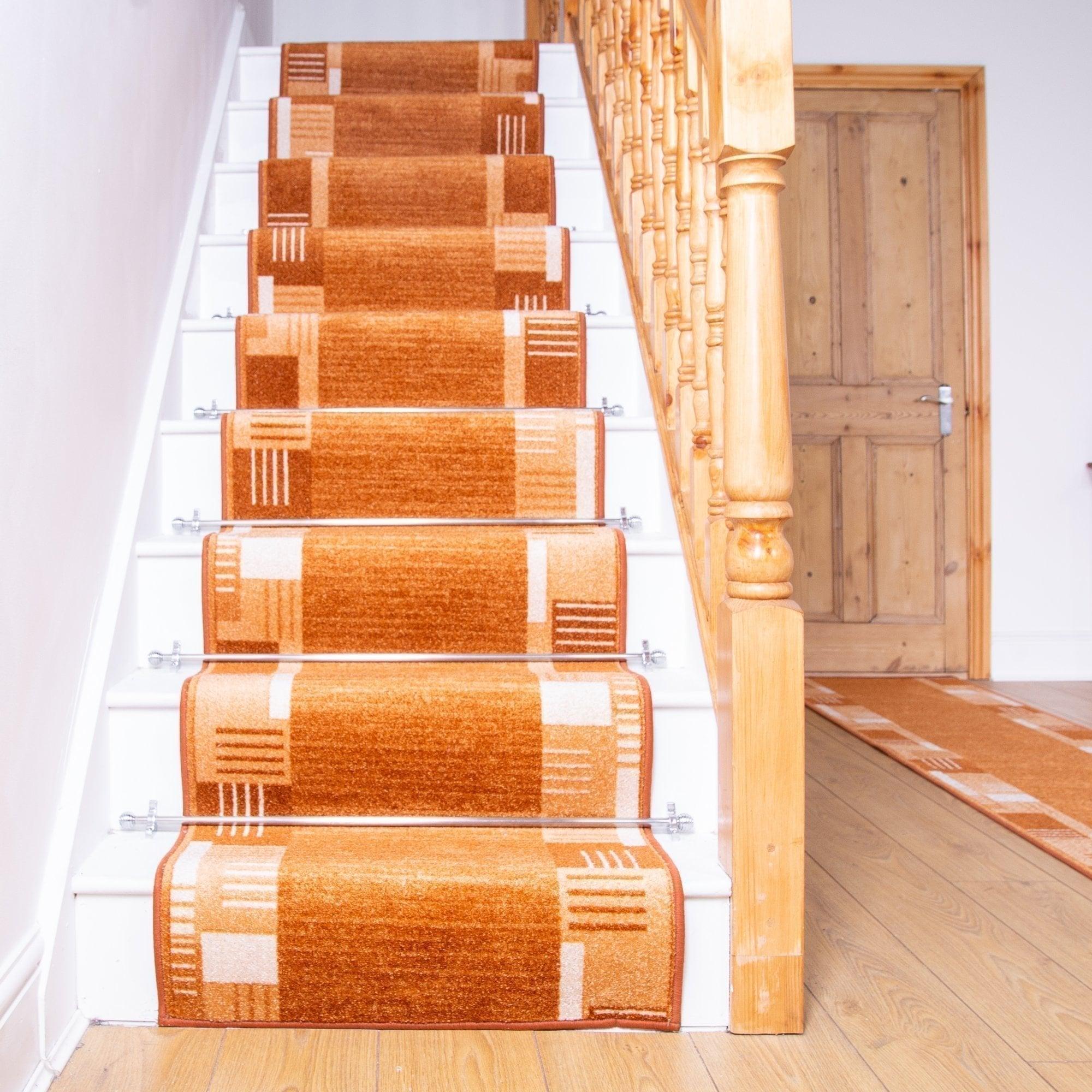 Montana Terracotta Stair Runner