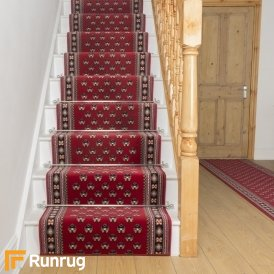 Montrose Red Stair Runner
