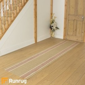Morocco Meknes Natural Sisal Hall Runner