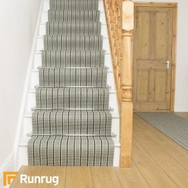 Morocco Nador Natural Sisal Stripe Stair Runner