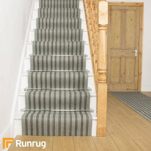 Morocco Oujda Natural Sisal Stripe Stair Runner