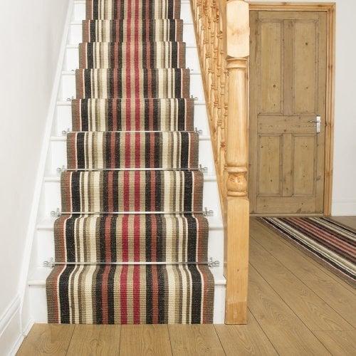 Morocco - Rabat Sisal Stair Carpet Runner