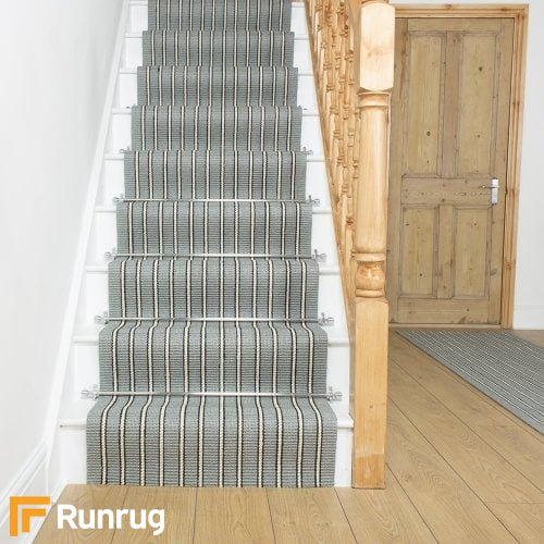 Morocco Safi Natural Sisal Stripe Stair Runner