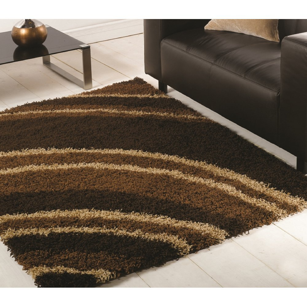 Nordic Crescent Chocolate Rug Only Available At Carpet