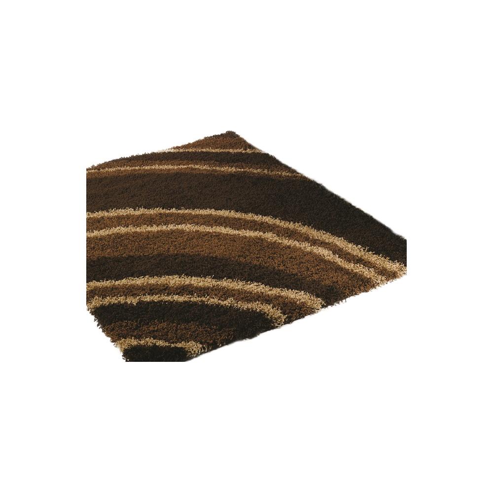 Chocolate Brown Nordic Crescent Rug Carpet Runners Uk