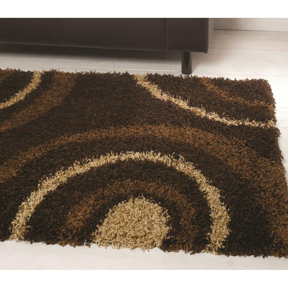 Chocolate Brown Nordic Equator Rug Carpet Runners Uk