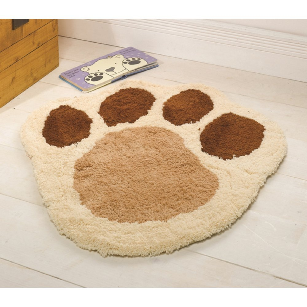 Nursery Puppy Paw Natural Rug Only Available At Carpet